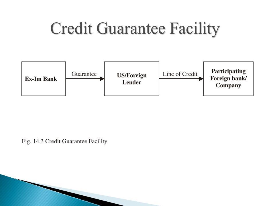 Credit Guarantee Facility