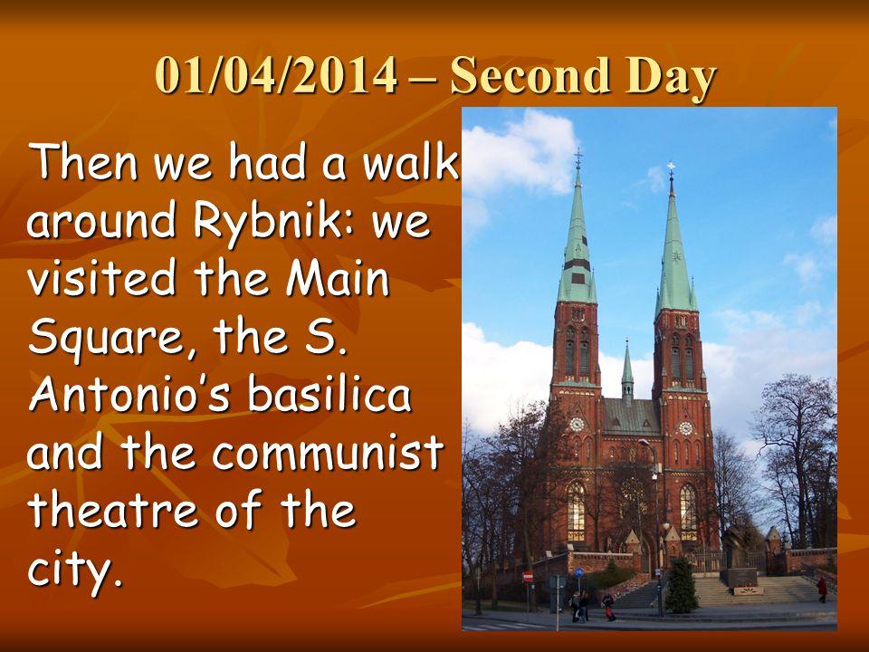 Main square of Rybnik