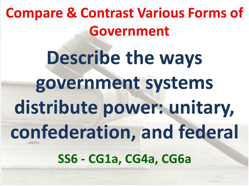 How Governments Determine Citizen Participation Autocratic The oldest form of government.