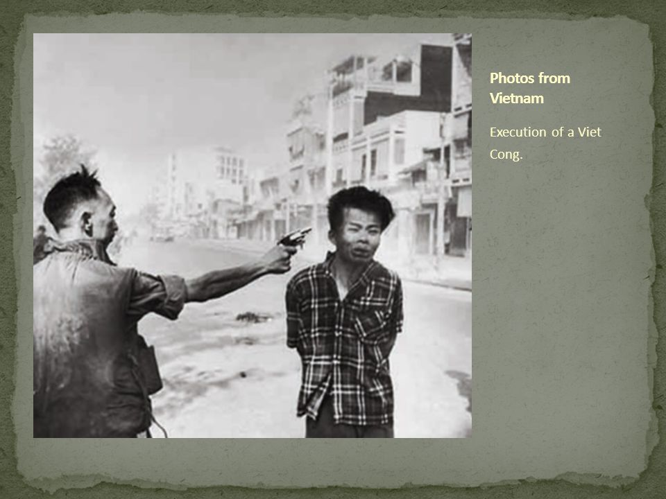 Execution of a Viet Cong.