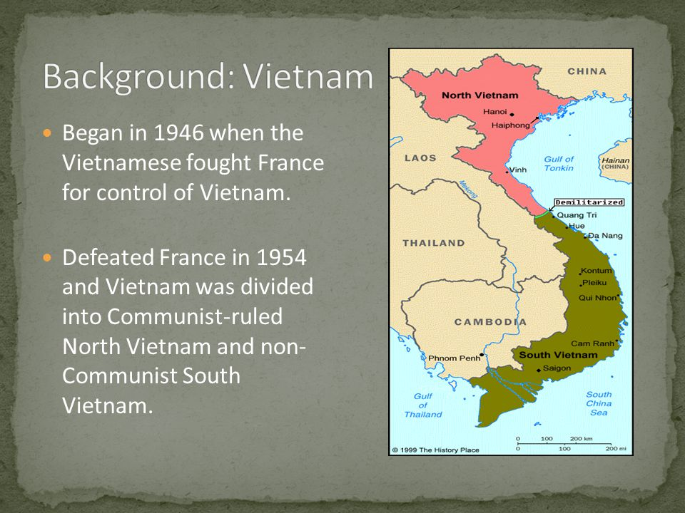 Began in 1946 when the Vietnamese fought France for control of Vietnam.