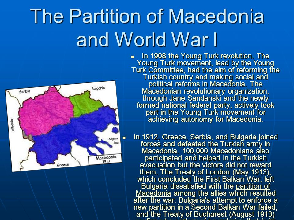 The independence movement Literacy and education flourished and the foundations of modern Macedonian literature were laid.