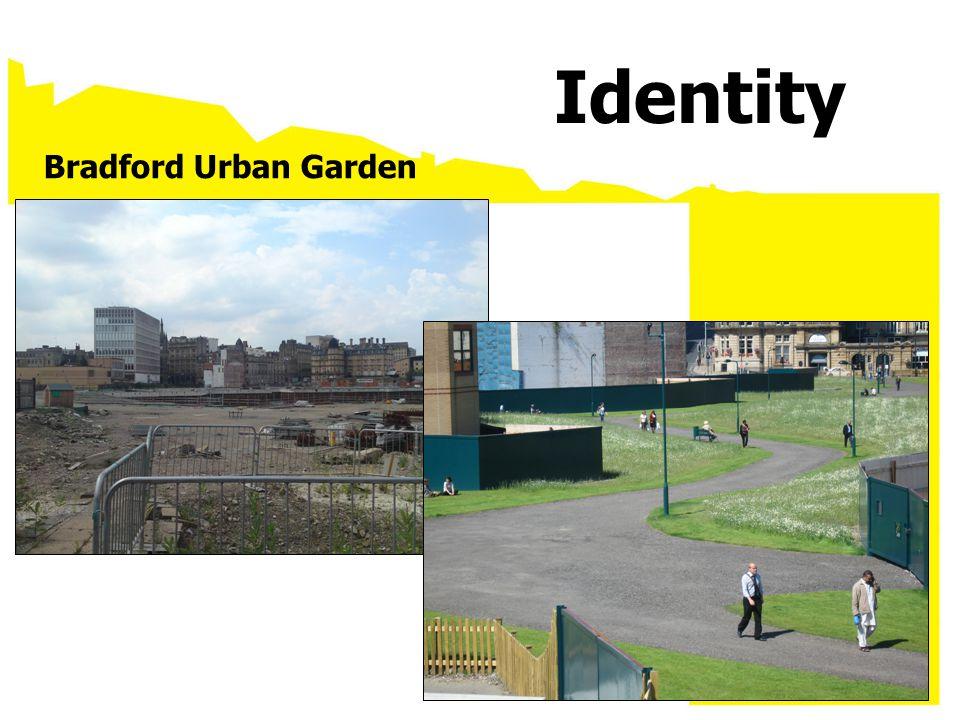 Bradford Urban Garden Identity
