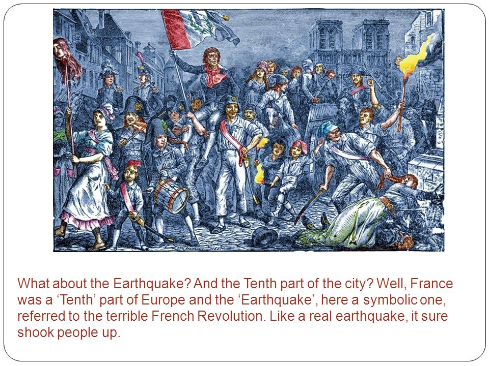 What about the Earthquake. And the Tenth part of the city.