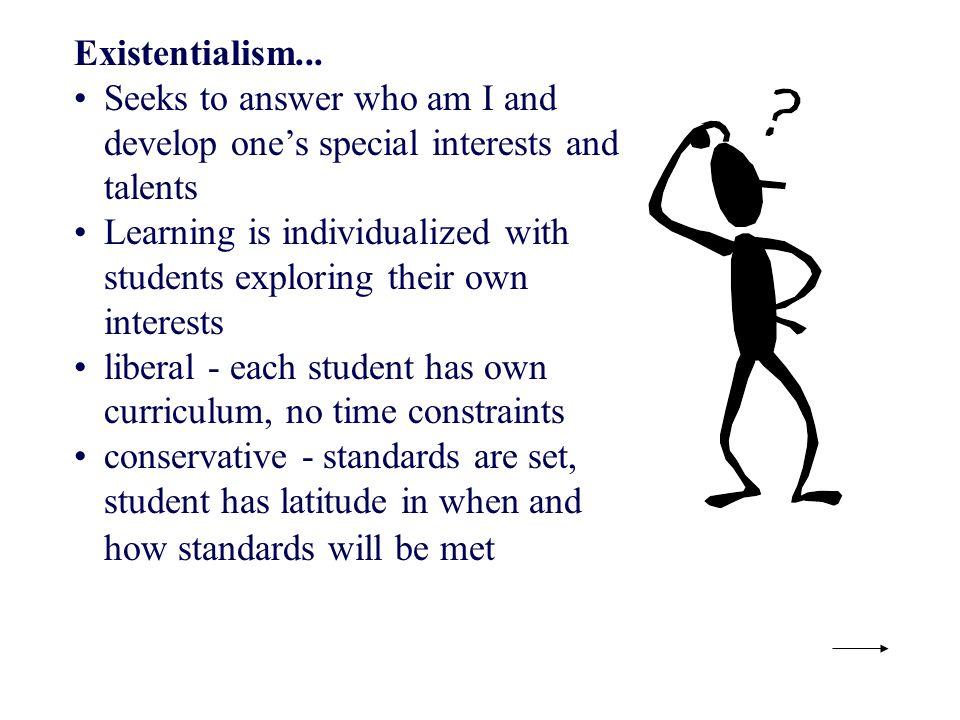 Existentialism...