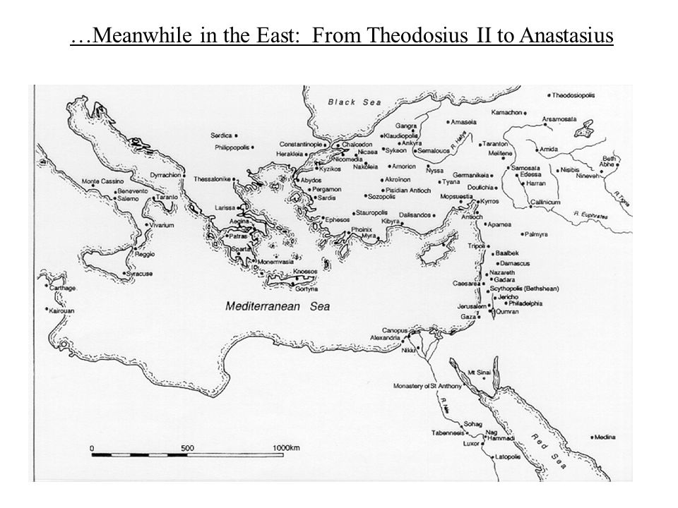 …Meanwhile in the East: From Theodosius II to Anastasius