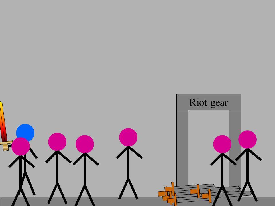 Riot gear