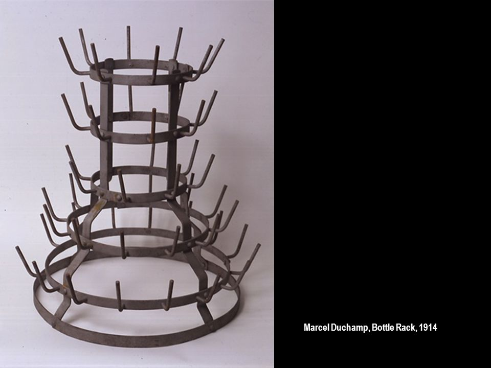 Marcel Duchamp, Bottle Rack, 1914