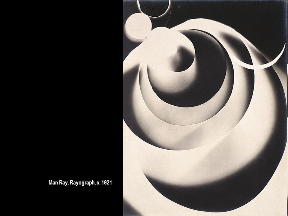 Man Ray, Rayograph, c. 1921