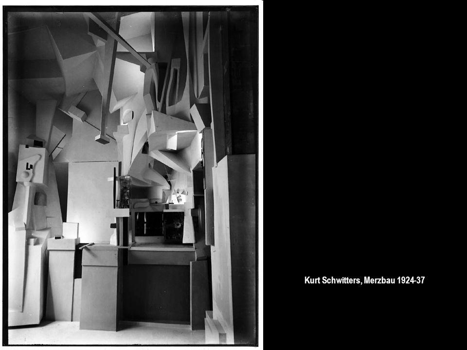 Kurt Schwitters, Merzbau 1924-37