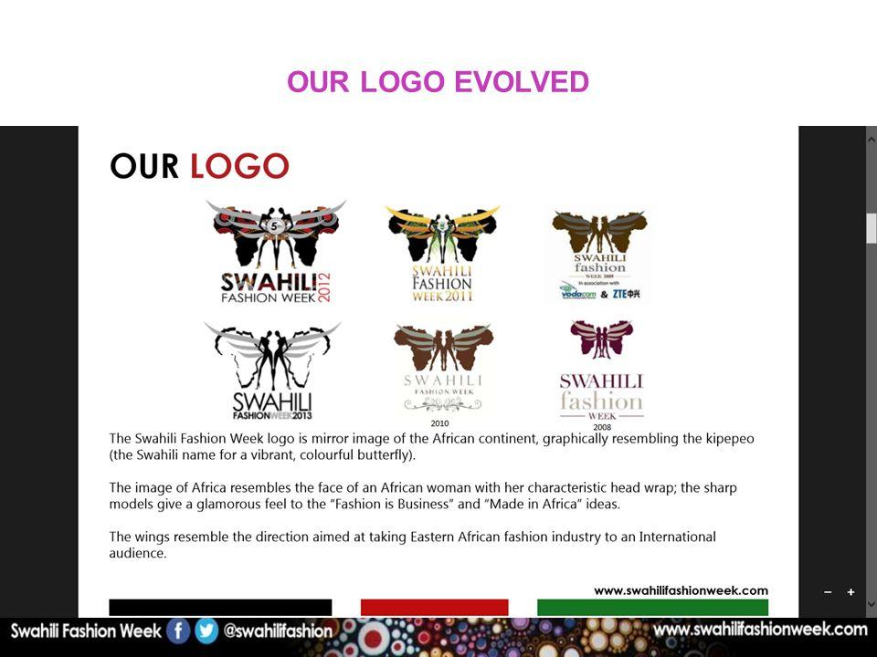 OUR LOGO EVOLVED 2008 2009 20102011
