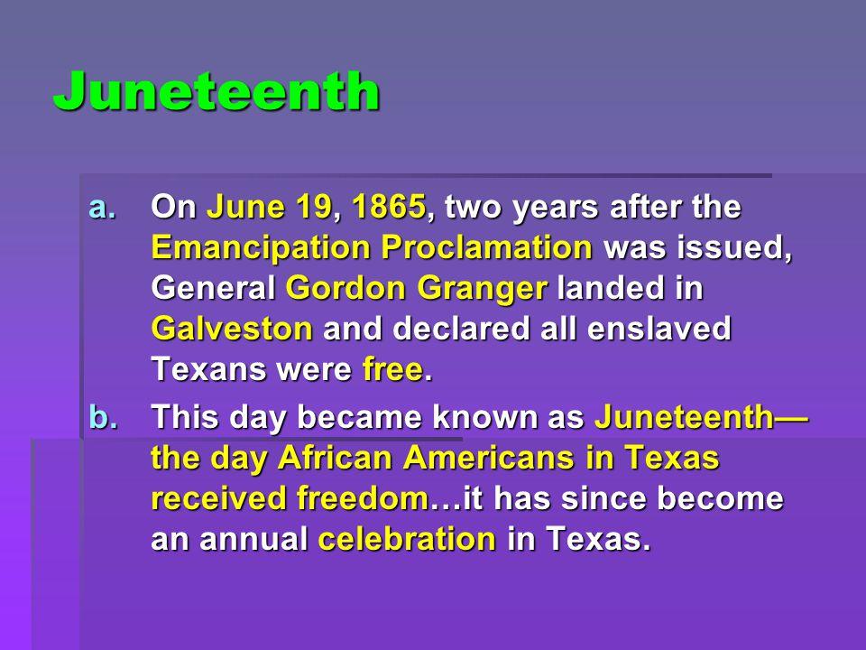 Juneteenth c.