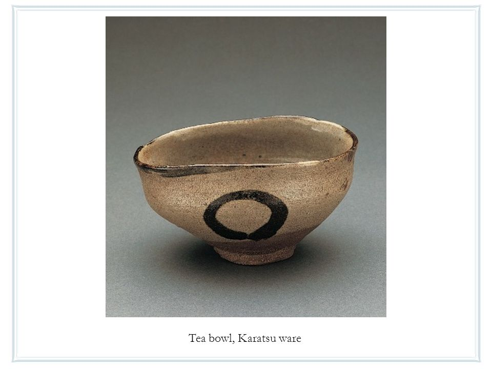 Tea bowl, Karatsu ware