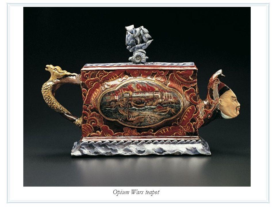 Opium Wars teapot