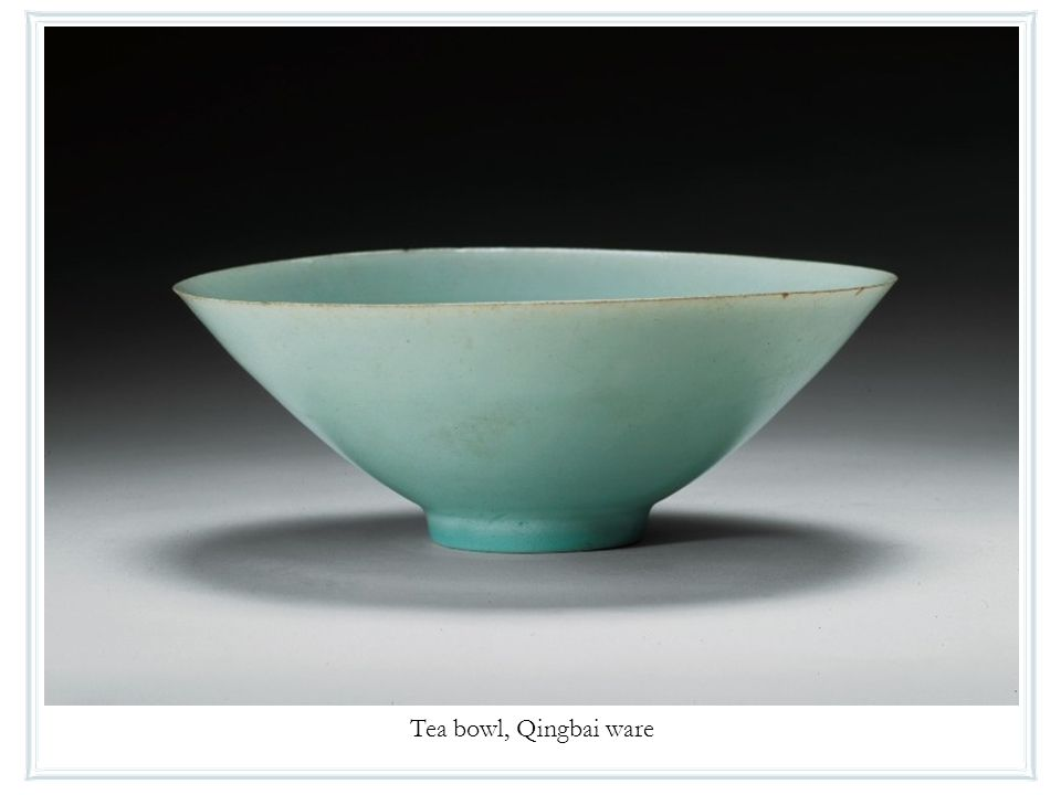 Tea bowl, Qingbai ware
