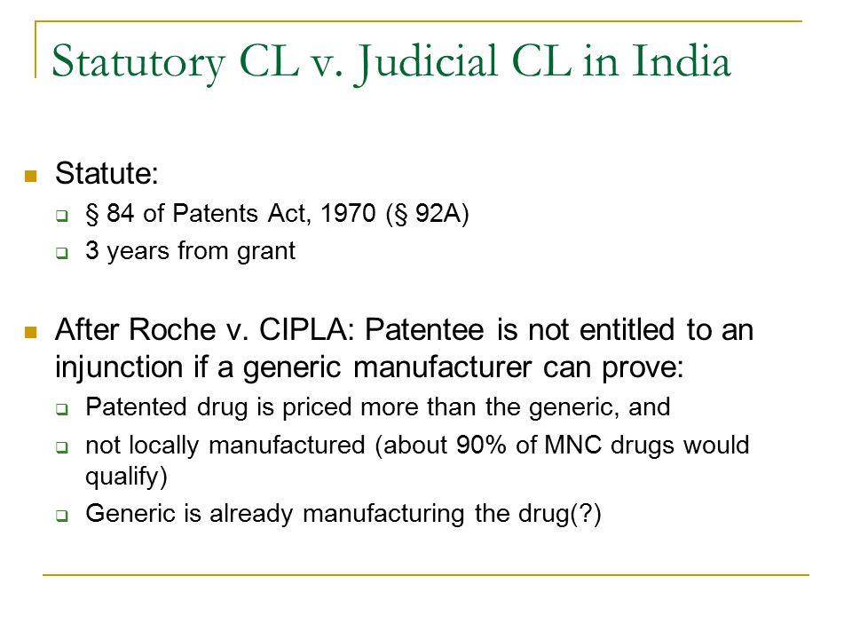 Statutory CL v.