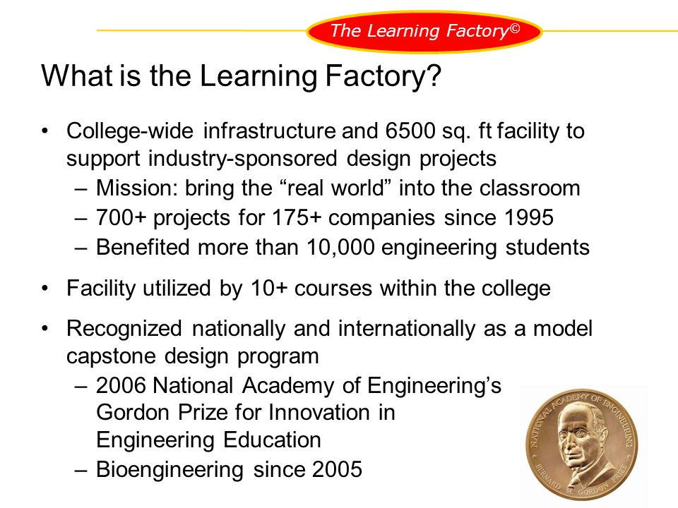 The Learning Factory ©
