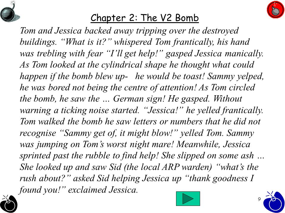 19 This adventure text has been brought to you by… Kariss, Cameron, Sajjad and Danielle – 6ND We hope you have enjoyed our story based in WW2?