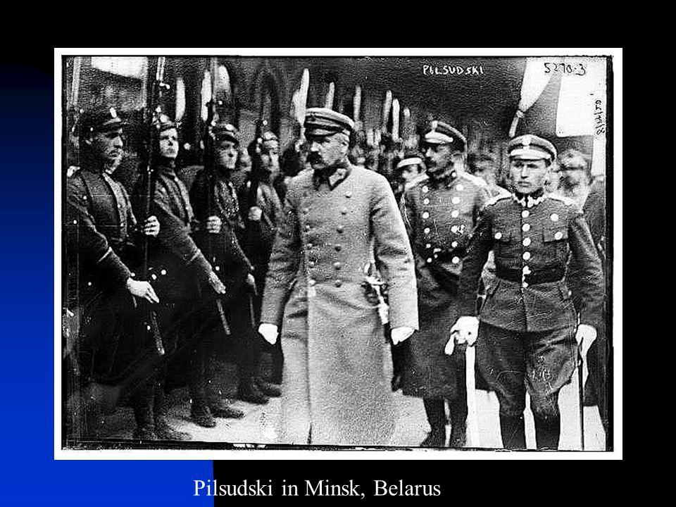 Pilsudski in Minsk, Belarus