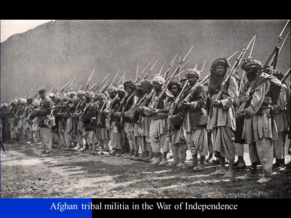 Afghan tribal militia in the War of Independence