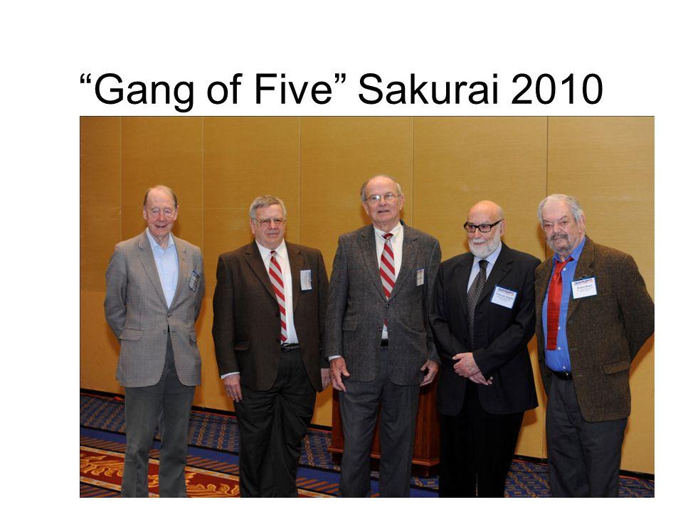 Gang of Five Sakurai 2010