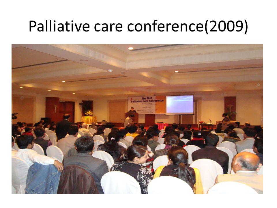 Palliative care conference(2009)