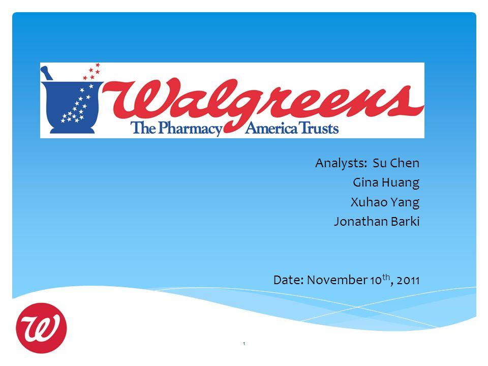 Analysts: Su Chen Gina Huang Xuhao Yang Jonathan Barki Date: November 10 th, 2011 1