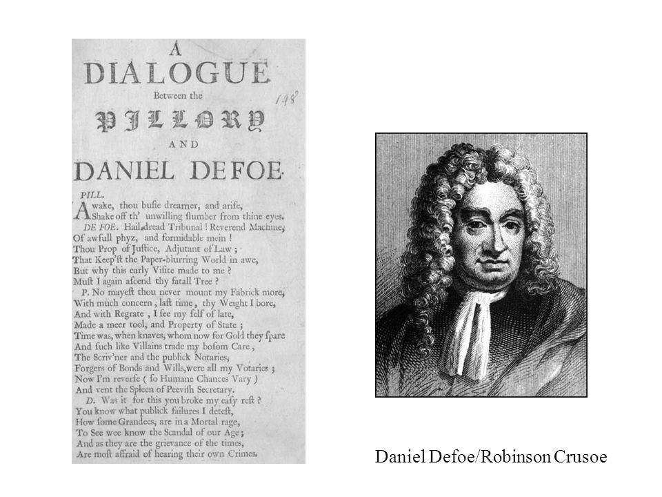 Daniel Defoe/Robinson Crusoe