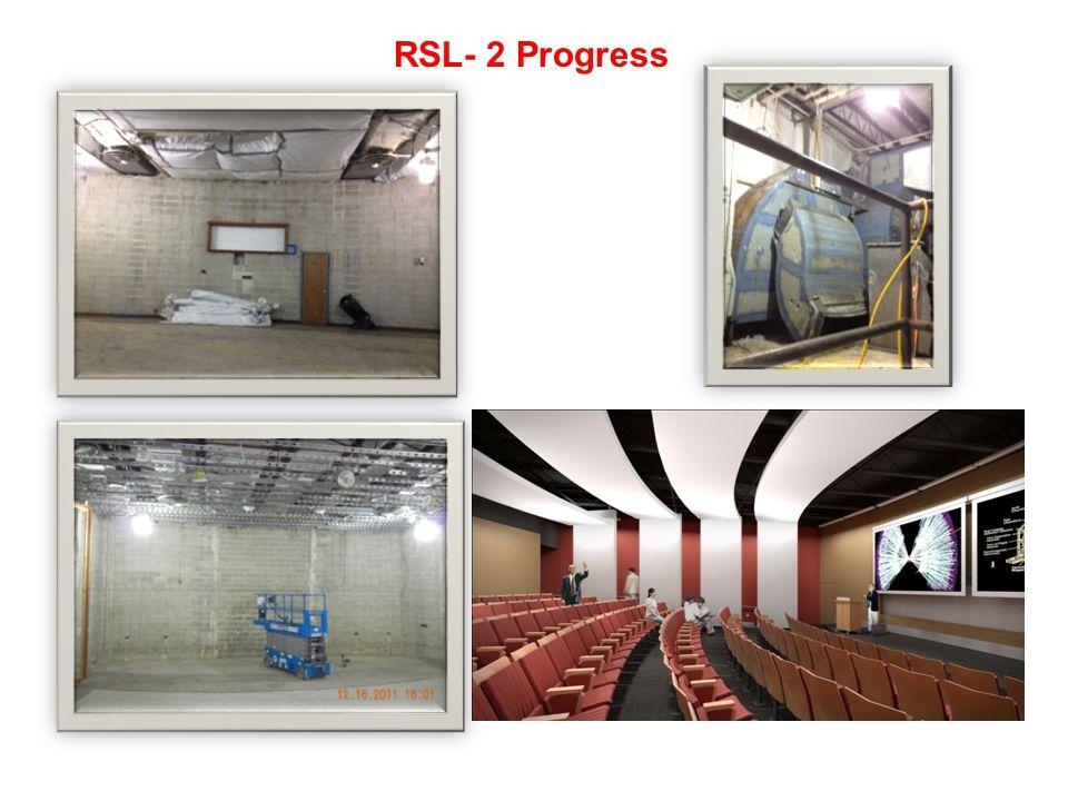 RSL- 2 Progress