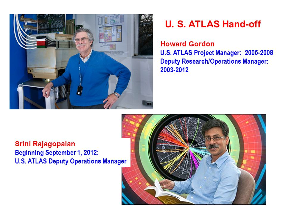 U. S. ATLAS Hand-off Howard Gordon U.S.