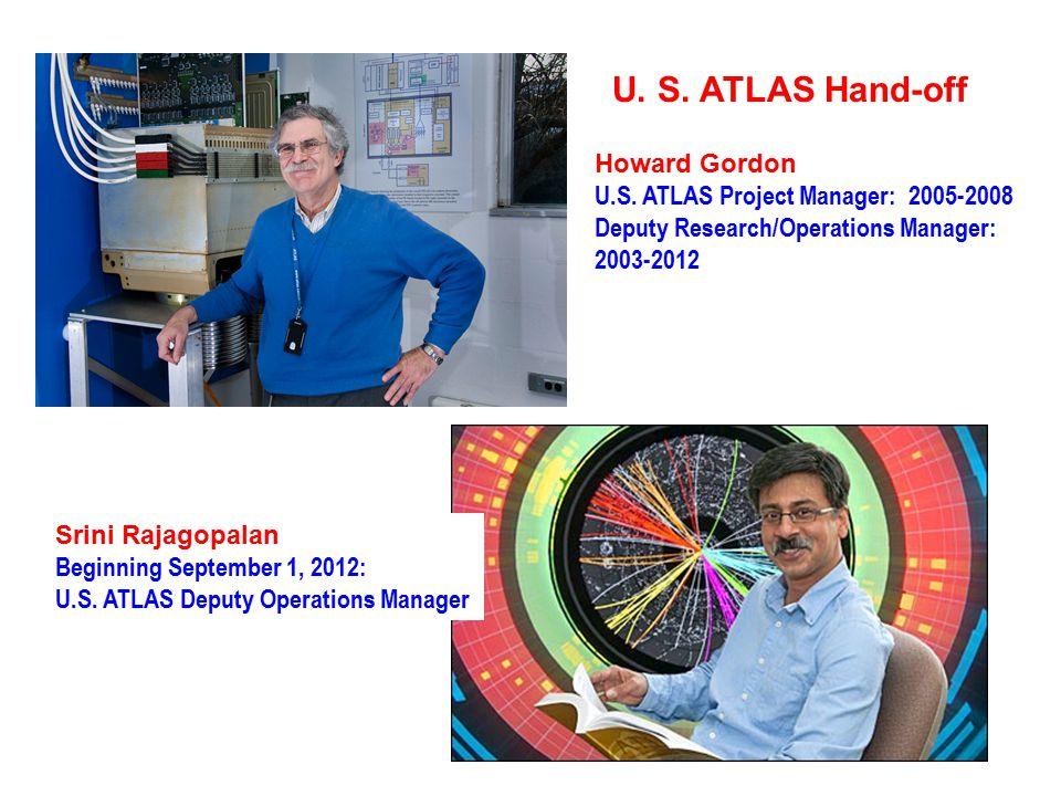 U. S. ATLAS Hand-off Howard Gordon U.S.