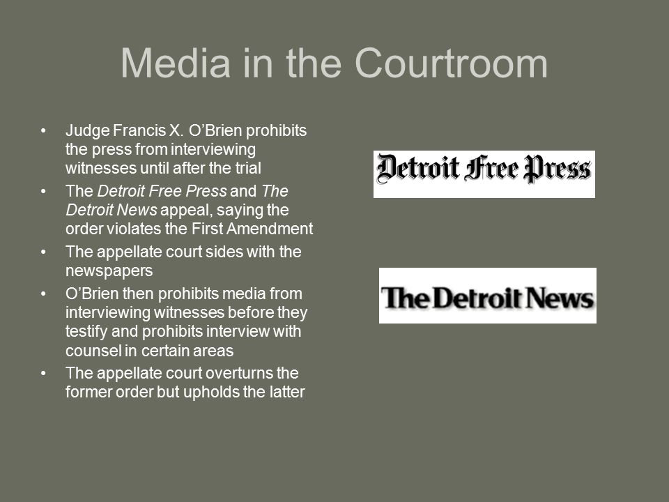 The Verdict November 12, 1996: Schmitz convicted of second-degree murder and possession of a firearm December 4, 1996: Schmitz sentenced to 25 to 50 years in prison, with a possibility for parole after 20 years