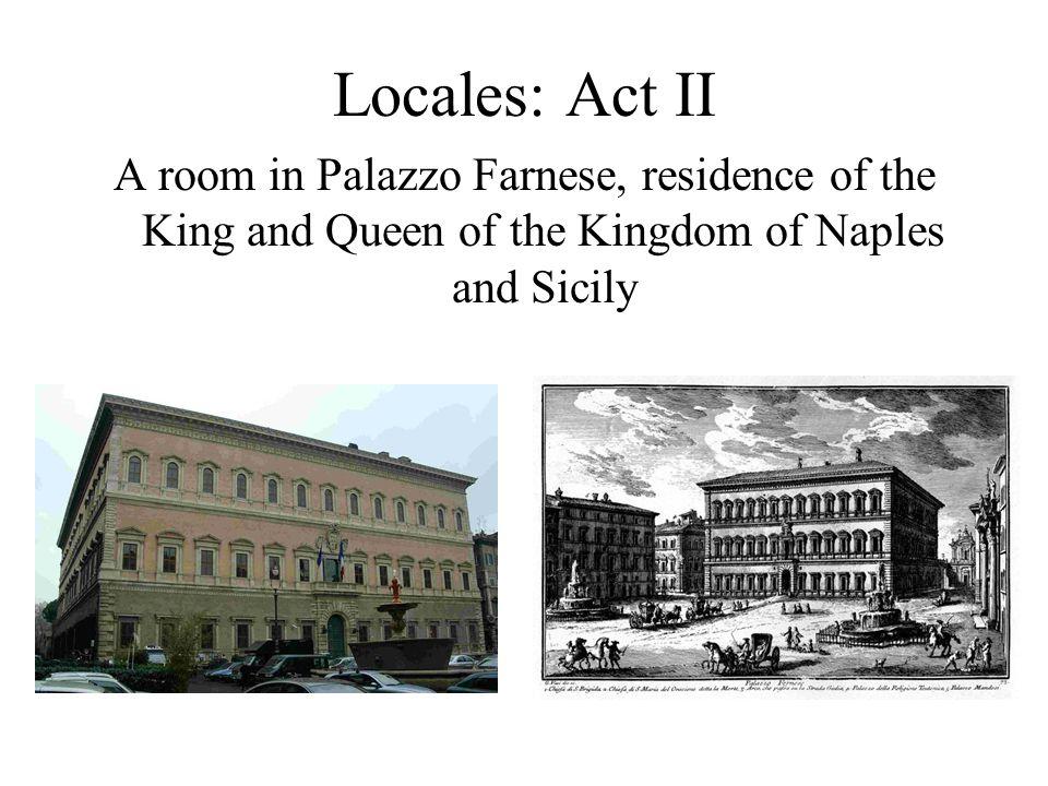 Locales: Act I Chiesa di Sant'Andrea della Valle