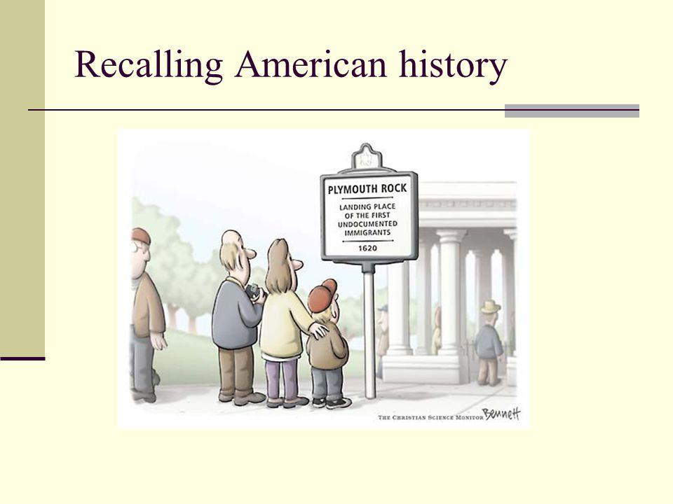 Recalling American history