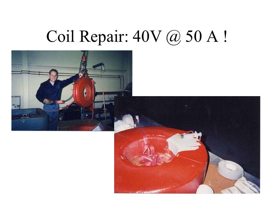 Coil Repair: 40V @ 50 A !