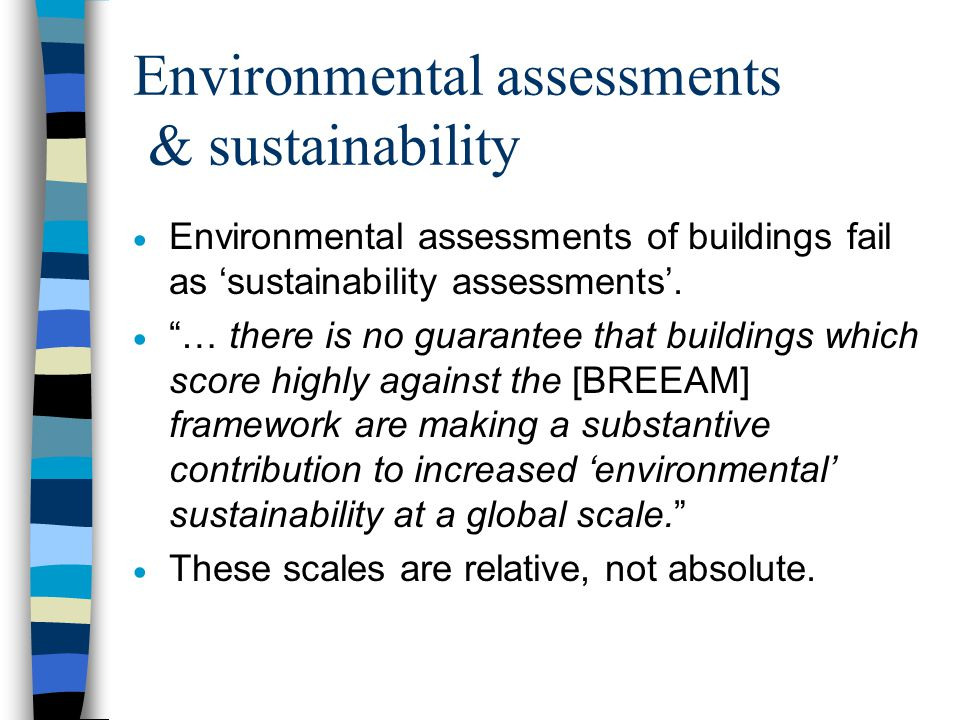 So what are 'green' buildings.
