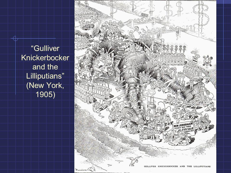 Gulliver Knickerbocker and the Lilliputians (New York, 1905)