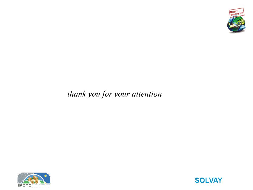 SOLVAY thank you for your attention