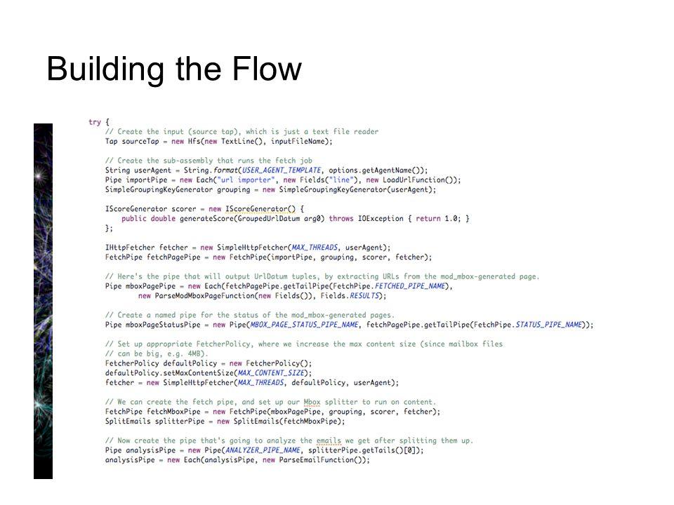 Building the Flow