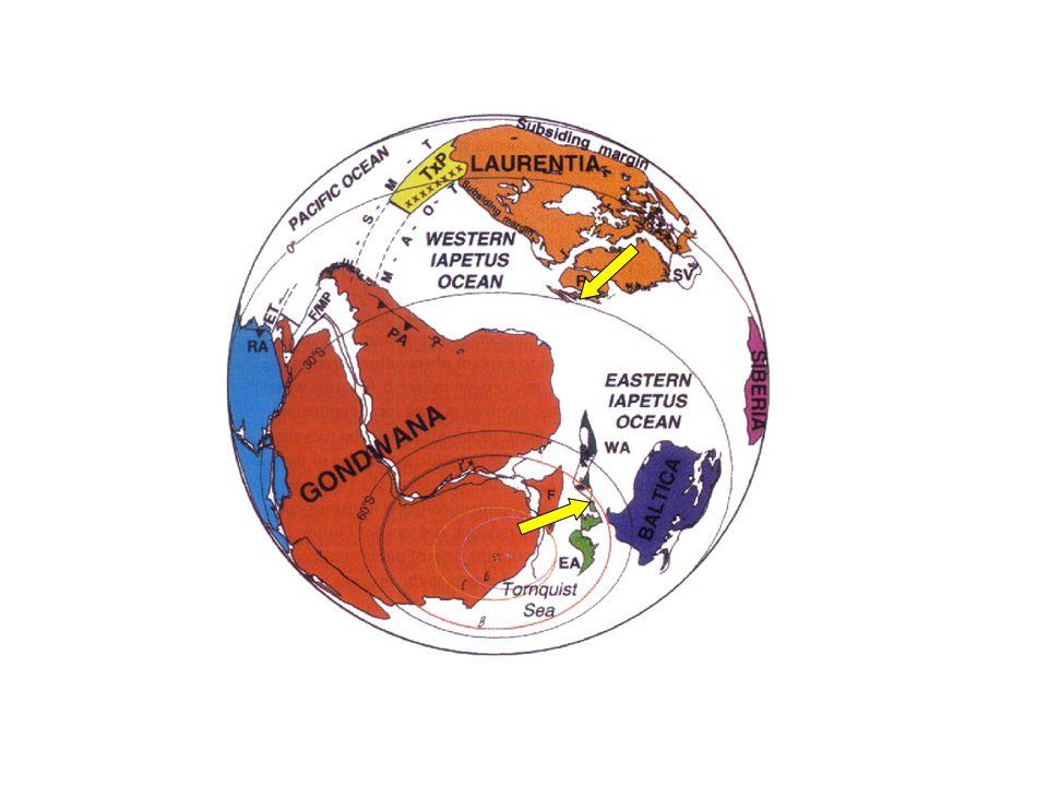 Late Neoproterozoic (circa 600 Ma) (from Dalziel, 1997)