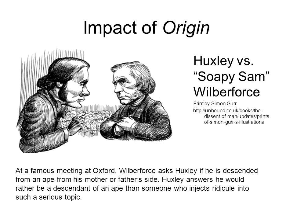 Impact of Origin Huxley vs.
