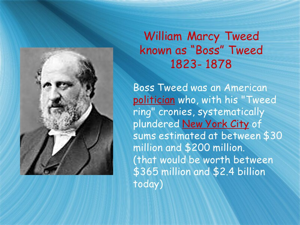 Thomas Nast Brings Down Boss Tweed and Tammany Hall The Power of the Political Cartoon