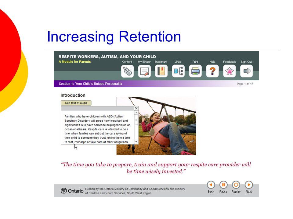 Increasing Retention