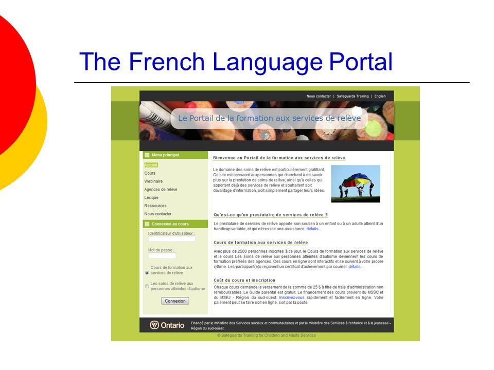 The French Language Portal