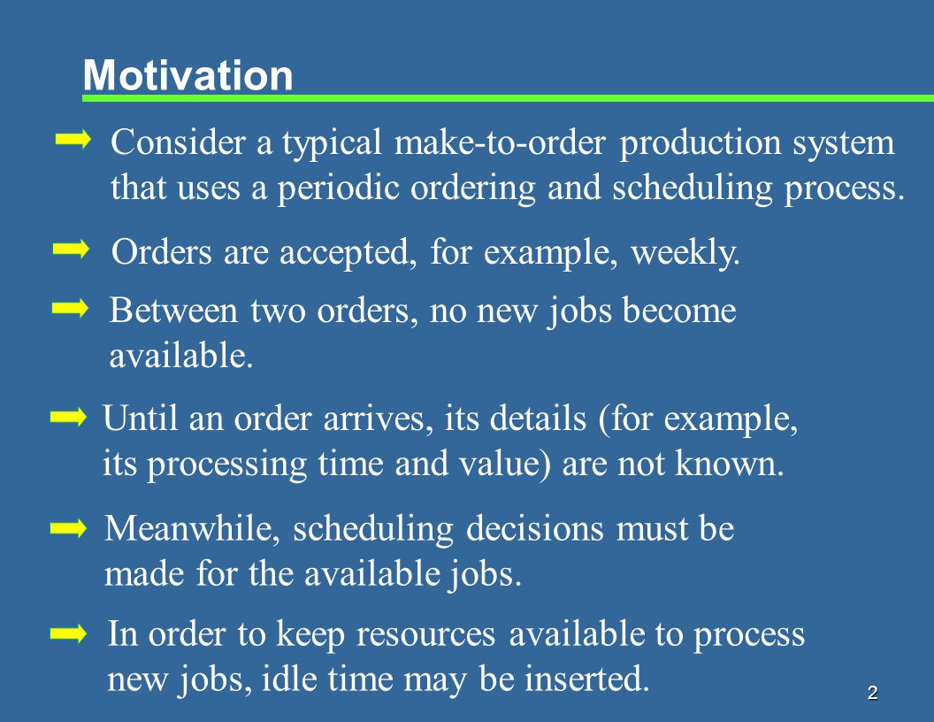 23 Type 1 Job j Preceded by Idle Time Lemma.