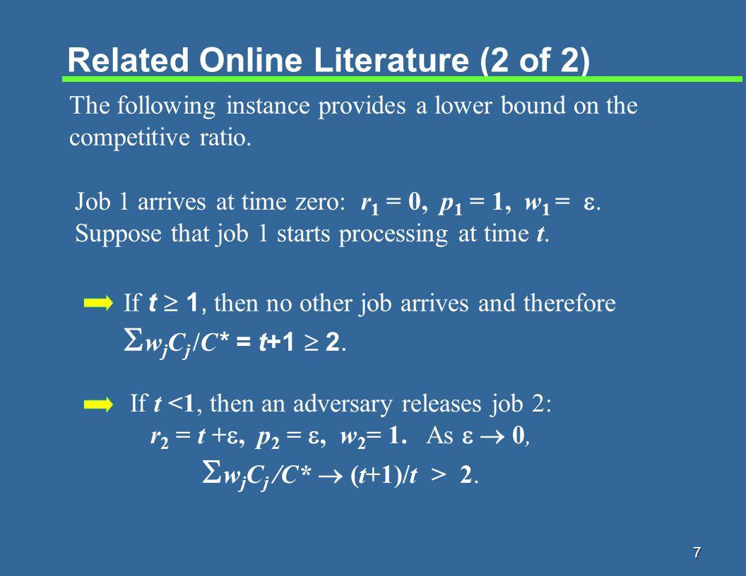 18 Characterizing a Worst-Case Instance Lemma.