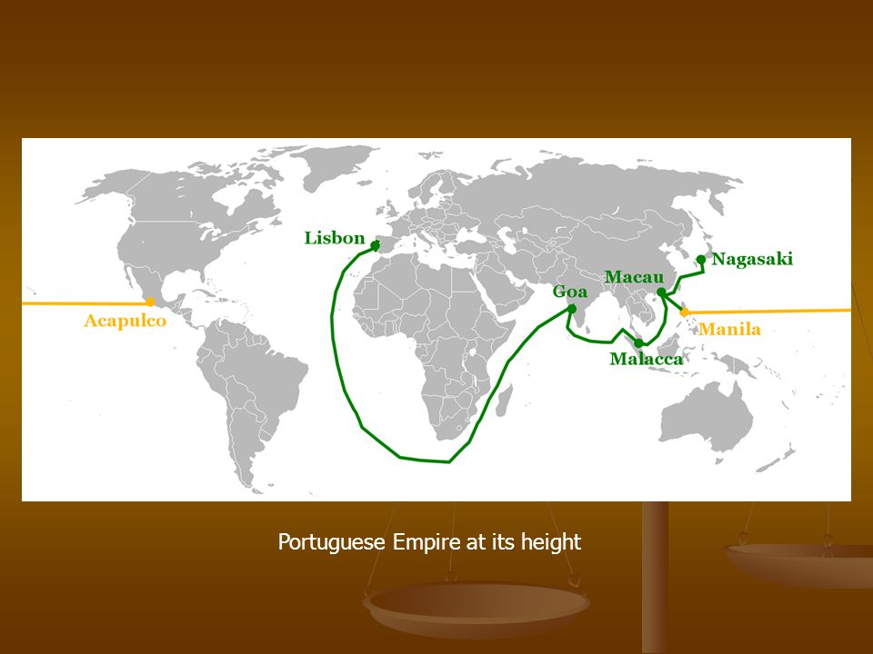 Portuguese Empire at its height