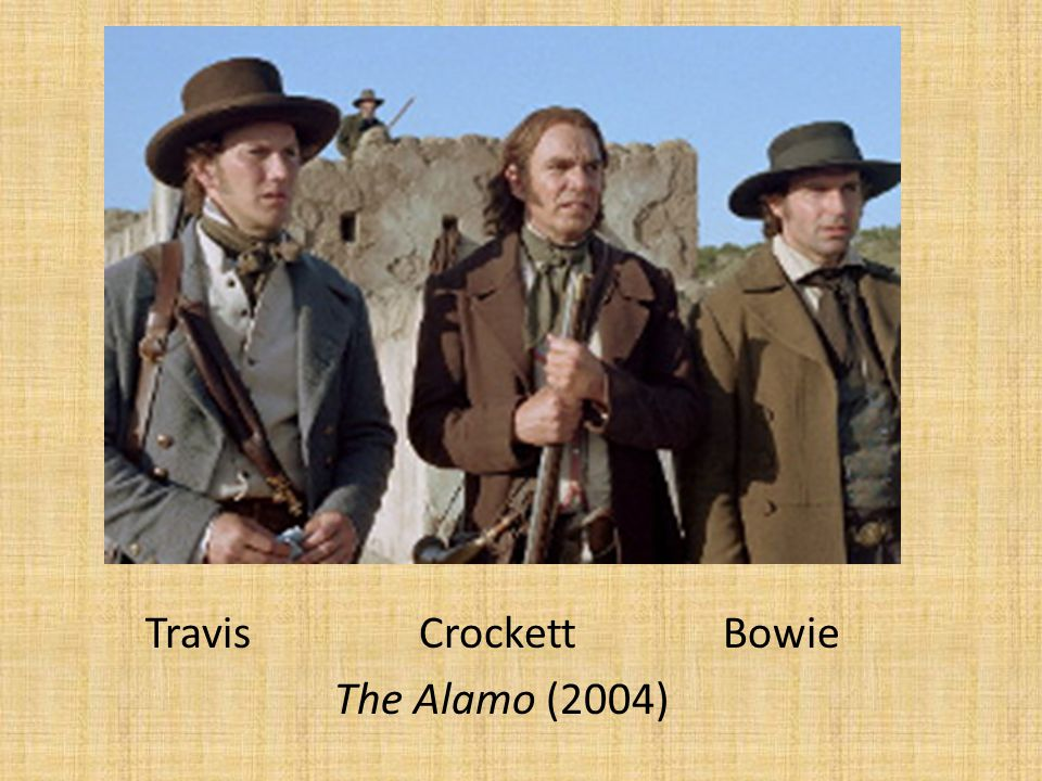 Travis Crockett Bowie The Alamo (2004)