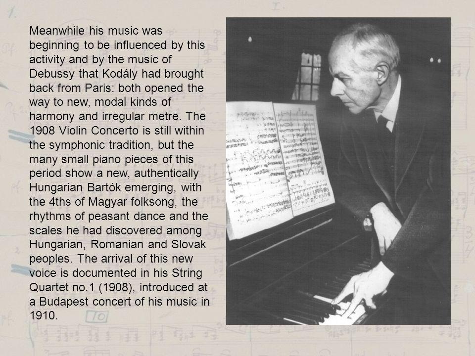 Bartók concert at our school