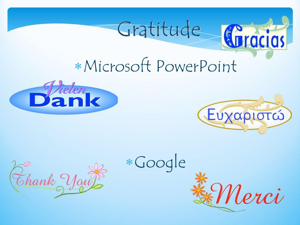 G GG Gratitude  Microsoft PowerPoint  Google